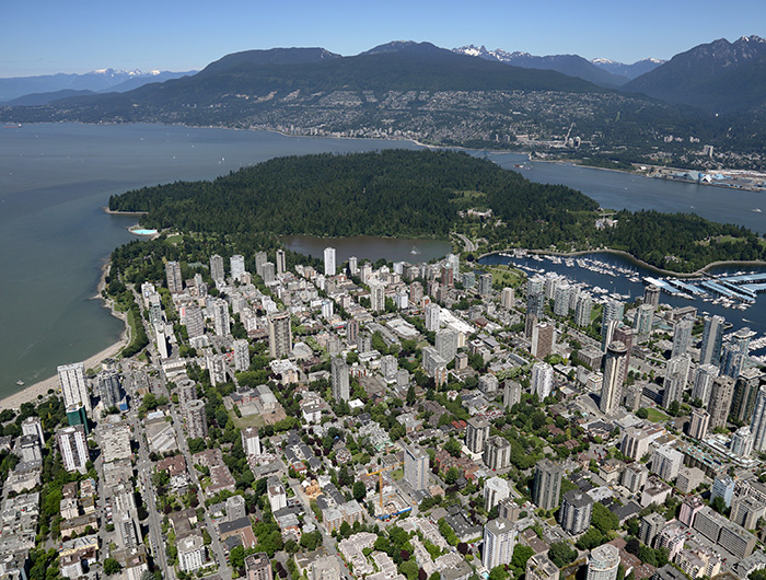 1 Downtown Vancouver City Overview