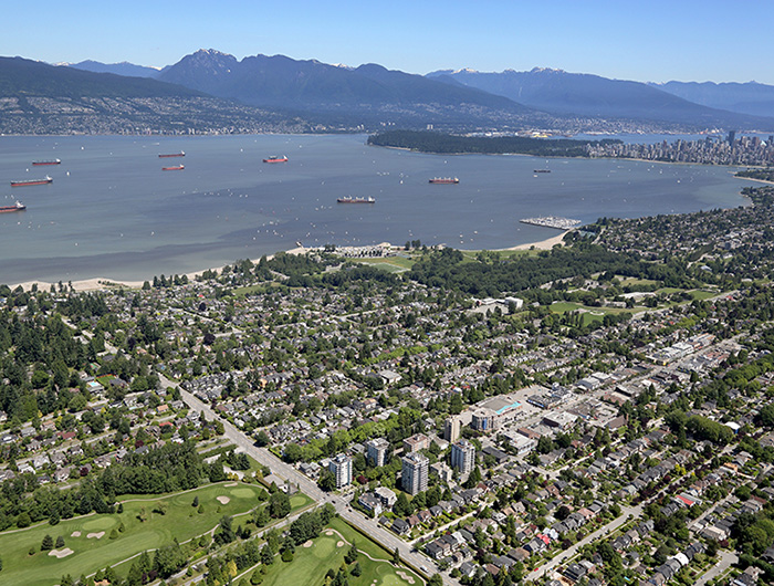 1 UBC Point Grey City Overview
