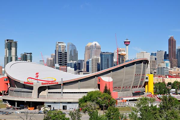 Calgary Interesting Sights Scotiabank Saddledome
