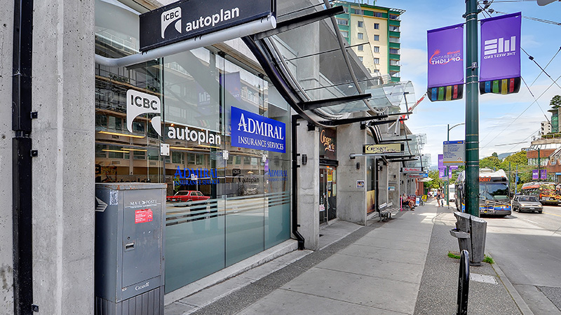 Commercial hollyburn properties for Admiral nail salon