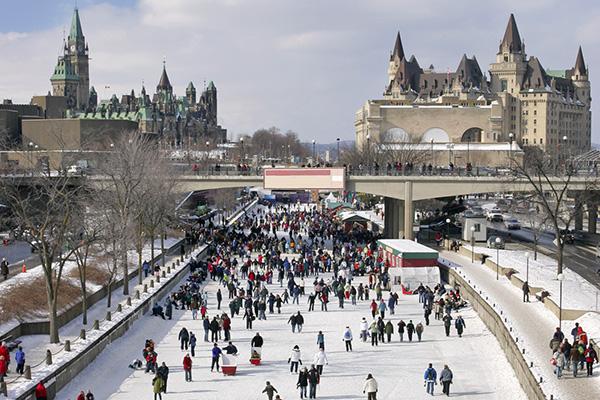 Ottawa Interesting Sights Rideau Canal