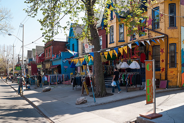 Toronto - The Annex - Interesting Sights - Kensington Market