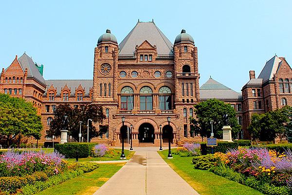 Toronto - The Annex - Interesting Sights - Queens Park