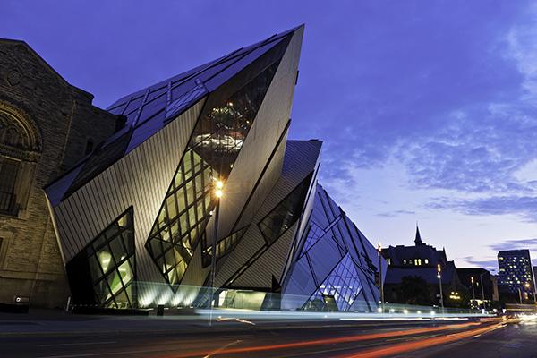 Toronto Royal Ontario Museum in The Annex