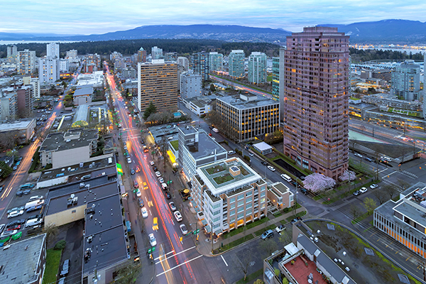 Vancouver West End Robson Street