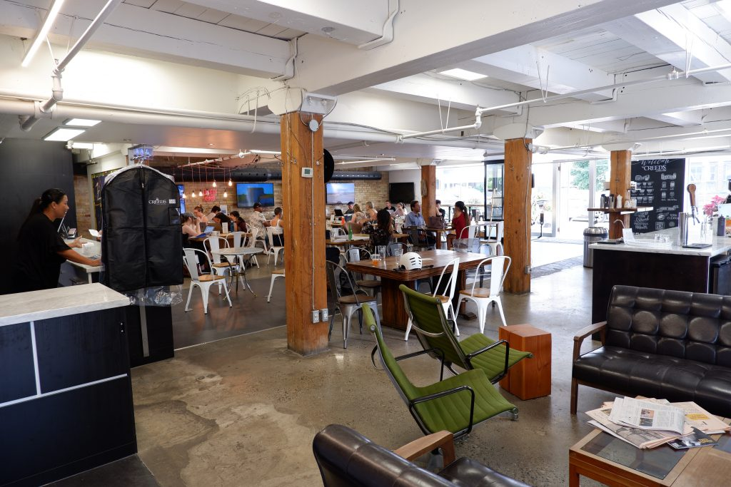 Creeds Coffee Bar is just 10 minutes away from Hollyburn's apartments for rent in Toronto