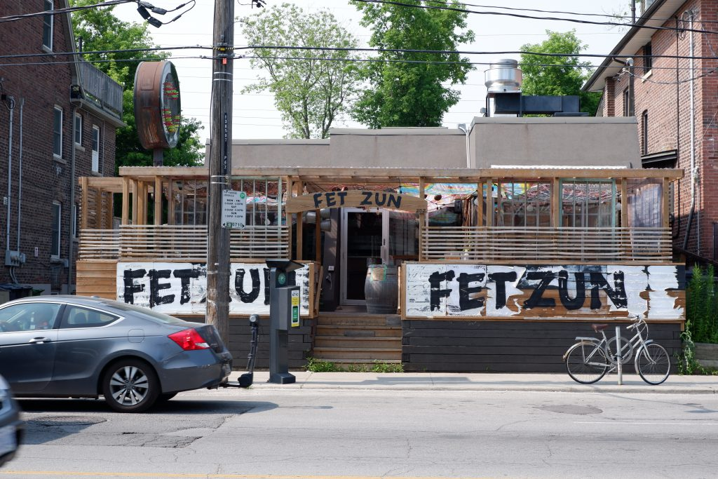Yummy eats and cool vibes at Fet Zun