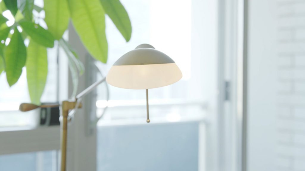 Lamp to decorate your rental apartment with style