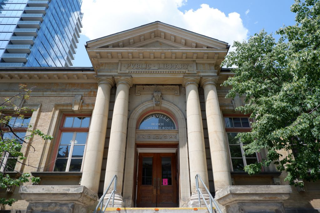 Toronto Public Library in Yorkville near Apartments for Rent