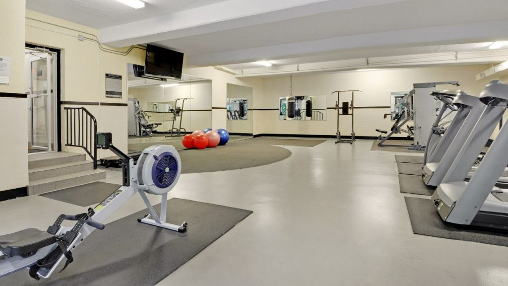 Rental Apartment Building Gym Vancouver