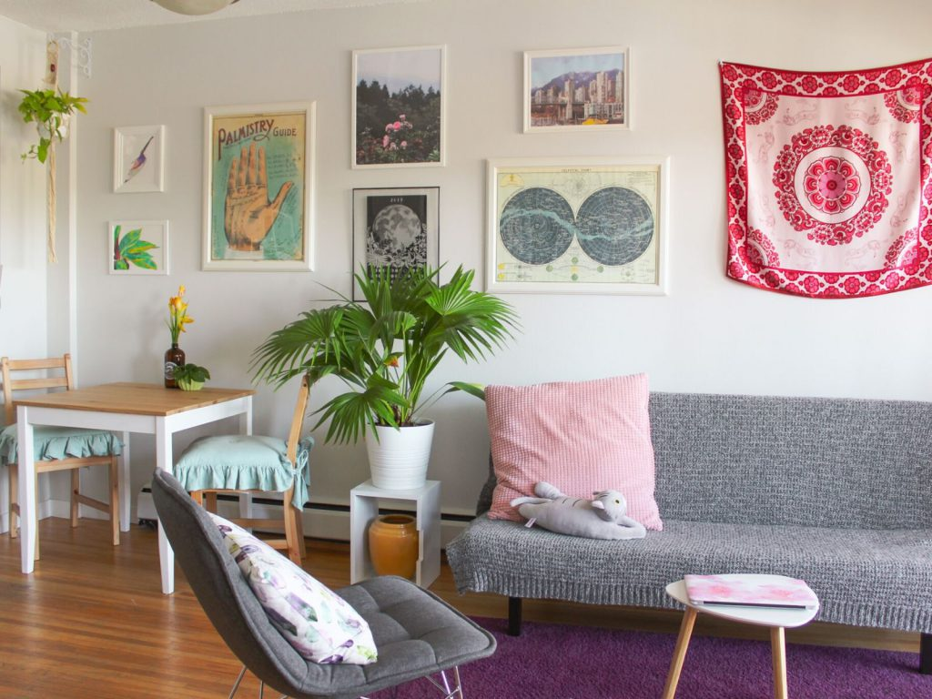 Natasha share her storage tips for living in a rental apartment