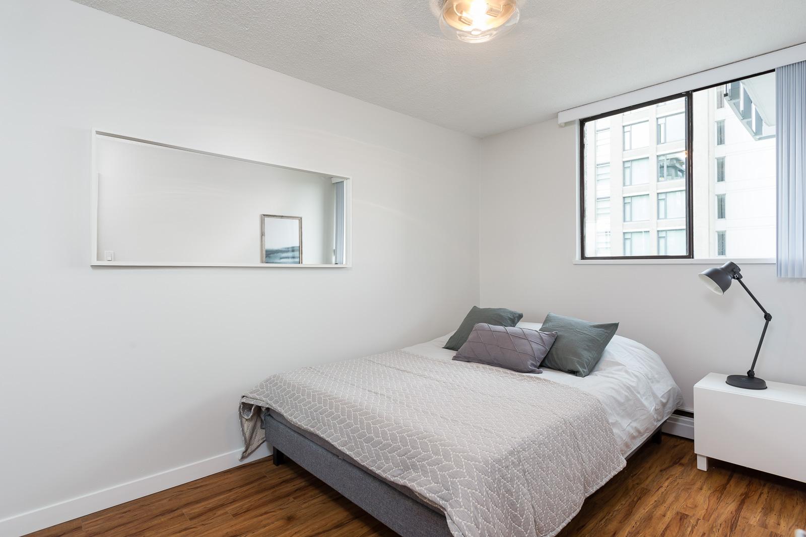 Hollyburn Harbourview 1Bedroom Furnished Rental Bedroom 604