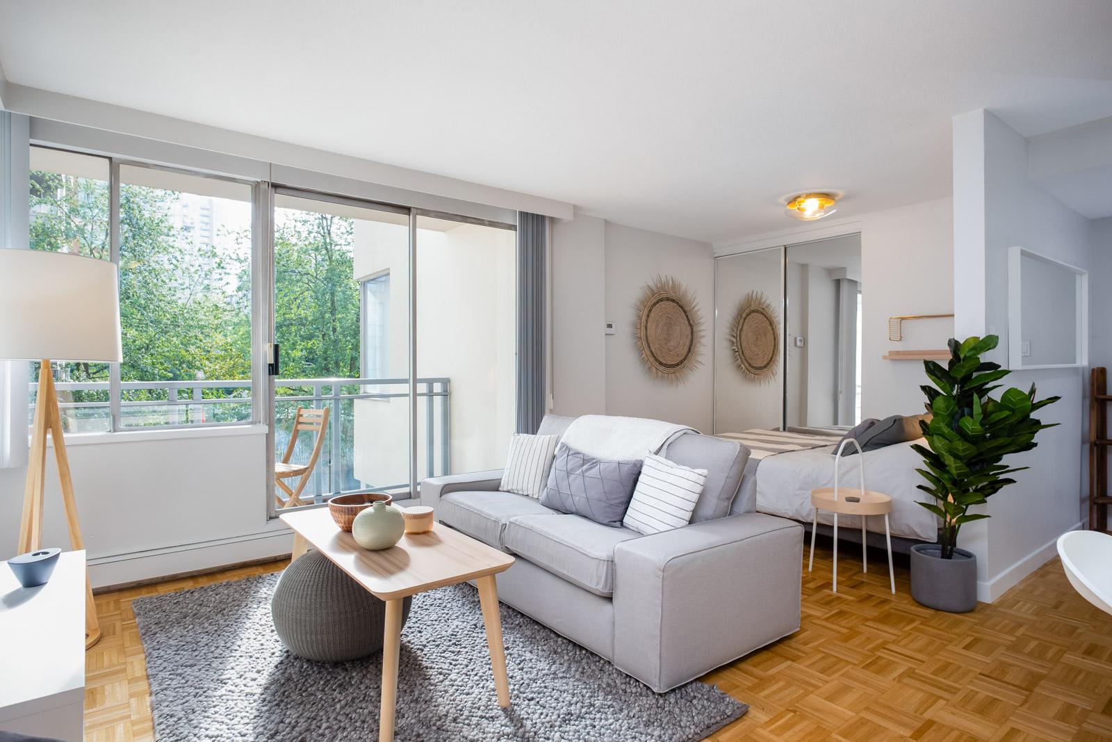 Hollyburn Somerset studio Furnished Rental living room 5 303