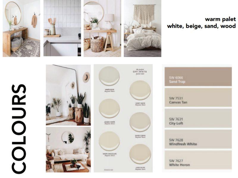 Colours Home Decor Mood Board